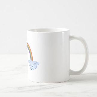 虹および雲 コーヒーマグカップ