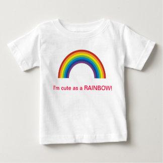 虹としてかわいい ベビーTシャツ