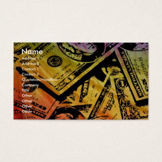 虹のお金ビジネスかプロフィールCard2 名刺