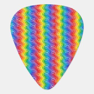 虹のさざ波 ギターピック