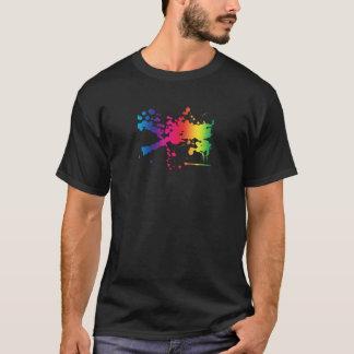 虹のしぶき Tシャツ
