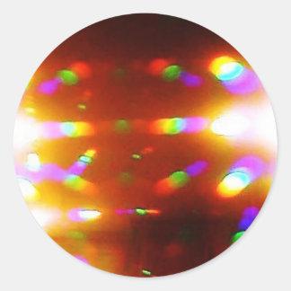 虹のつながり ラウンドシール