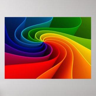 虹のねじれ ポスター