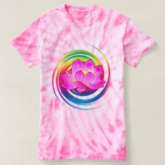 虹のはすの花 Tシャツ