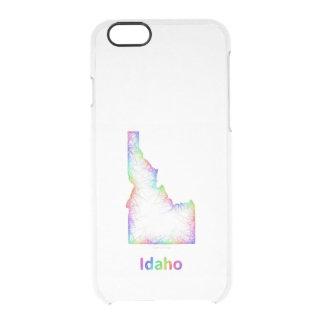 虹のアイダホの地図 クリアiPhone 6/6Sケース