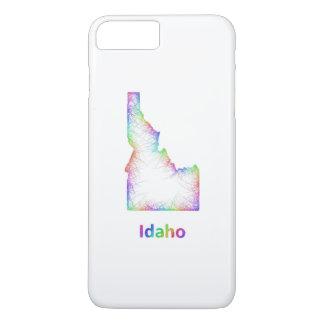 虹のアイダホの地図 iPhone 8 PLUS/7 PLUSケース