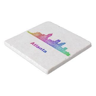 虹のアトランタのスカイライン トリベット