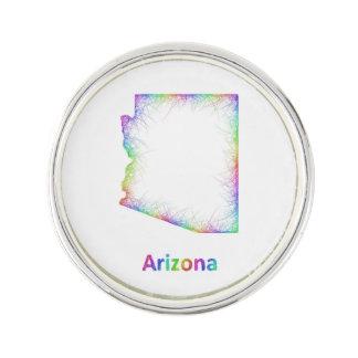 虹のアリゾナの地図 ラペルピン