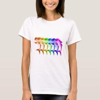 虹のイルカ Tシャツ