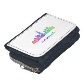 虹のインディアナポリスのスカイライン ウォレット