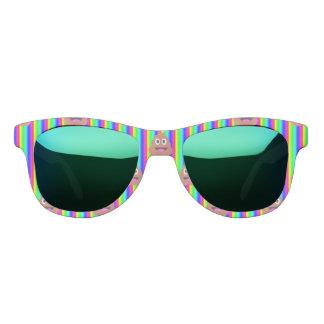 虹のウンチのemojiのサングラス サングラス