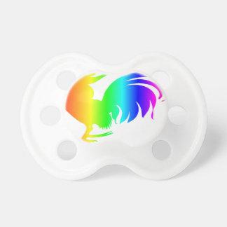 虹のオンドリ おしゃぶり
