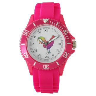 虹のオンドリ 腕時計