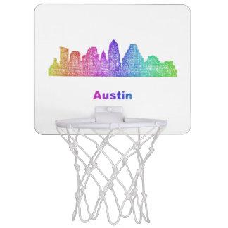 虹のオースティンのスカイライン ミニバスケットボールゴール