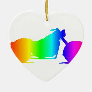 虹のオートバイ#4 セラミックオーナメント