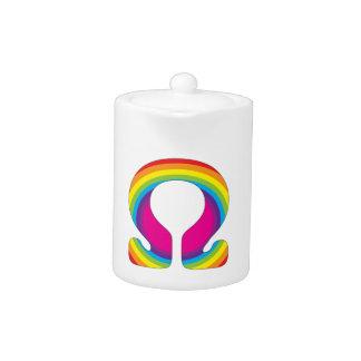 虹のオームのヨガの信念
