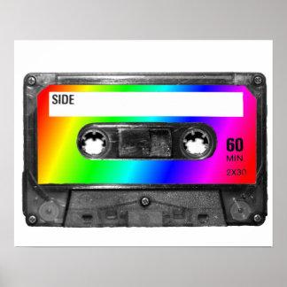 虹のカセットテープ ポスター
