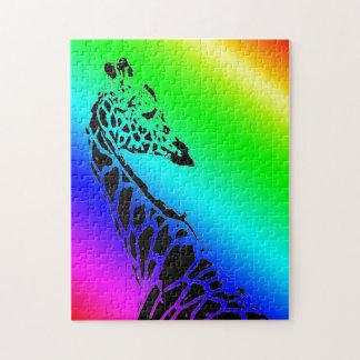 虹のキリンII ジグソーパズル