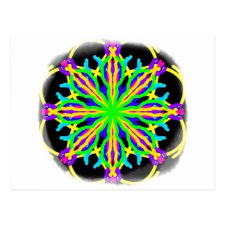 虹のギフトのKaleidascopeの当惑 ポストカード