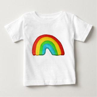 虹のクッキー ベビーTシャツ