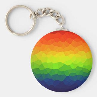 虹のゲイプライド色LBGTの記号 キーホルダー