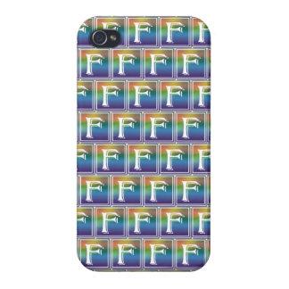 虹のゴシック体F iPhone 4/4S ケース