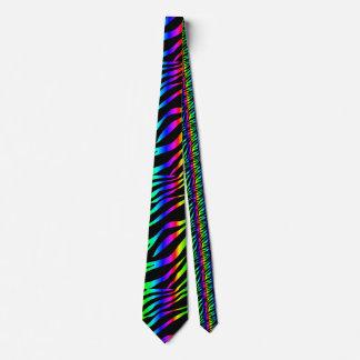 虹のシマウマ ネクタイ