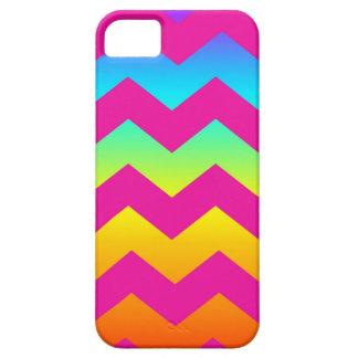 虹のジグザグ形 iPhone SE/5/5s ケース