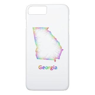 虹のジョージアの地図 iPhone 8 PLUS/7 PLUSケース