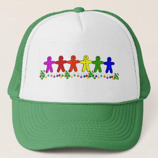 虹のジンジャーブレッド キャップ