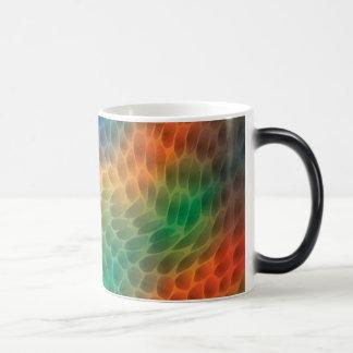 虹のスケール モーフィングマグカップ