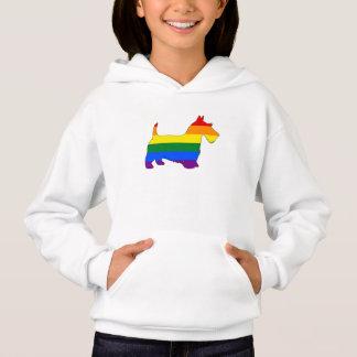 虹のスコットランド人テリア
