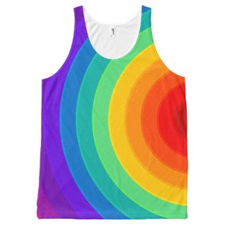 虹のスタイル# 1 オールオーバープリントタンクトップ
