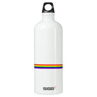 虹のストライプ ウォーターボトル