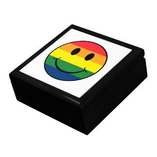 虹のスマイリー ギフトボックス