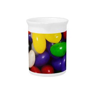 虹のゼリー菓子-キャンデーのプリント ピッチャー