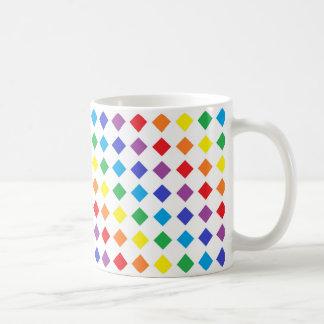 虹のダイヤモンド コーヒーマグカップ