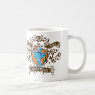 虹のダッシュ- Carpeのdiem -日を握って下さい コーヒーマグカップ