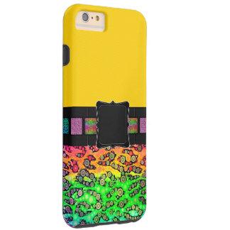 虹のチータのモノグラム TOUGH iPhone 6 PLUS ケース