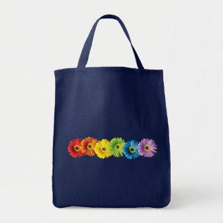 虹のデイジー トートバッグ