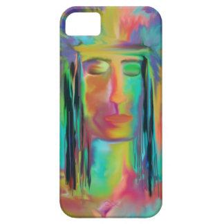 虹のデジタル芸術のiPhone 5の例の戦士 iPhone 5 カバー