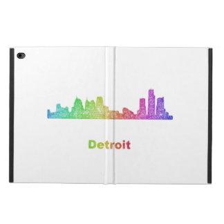 虹のデトロイトスカイライン POWIS iPad AIR 2 ケース
