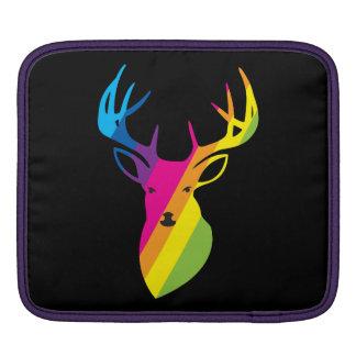 虹のトナカイ iPadスリーブ