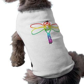 虹のトンボ犬の用品類 ペット服