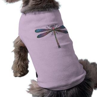 虹のトンボ ペット服
