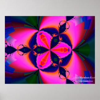 虹のニュートン ポスター