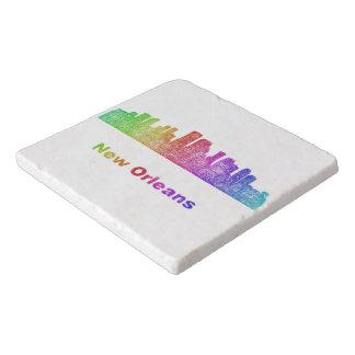 虹のニュー・オーリンズのスカイライン トリベット