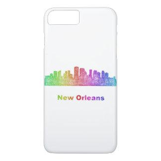 虹のニュー・オーリンズのスカイライン iPhone 8 PLUS/7 PLUSケース