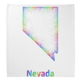 虹のネバダの地図 バンダナ