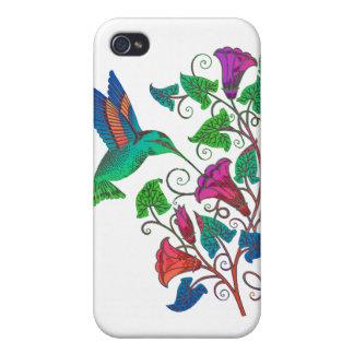虹のハチドリ iPhone 4/4S カバー